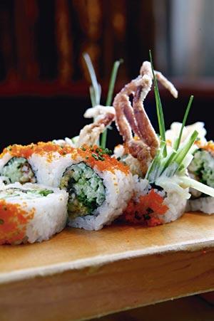 sushi mangiare